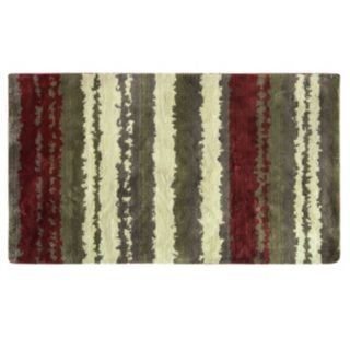 Bacova Cashion Microfiber Strata Striped Rug