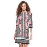 Women's Suite 7 Moroccan Medallion Shift Dress