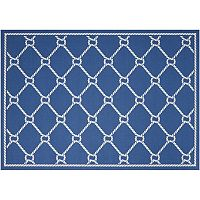 Waverly Sun N' Shade Rope Lattice Indoor Outdoor Rug - 10' x 13'