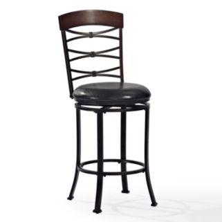 Crosley Furniture Highland Swivel Counter Stool