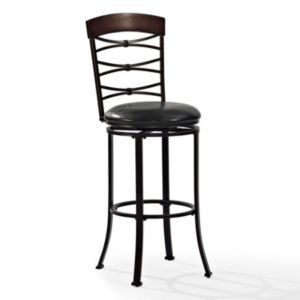 Crosley Furniture Highland Swivel Bar Stool