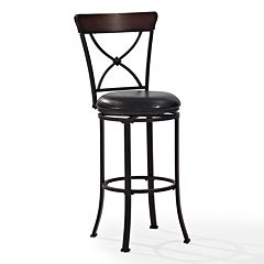 Crosley Furniture Pruitt Swivel Bar Stool