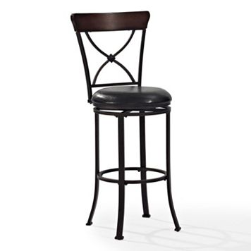 Crosley Furniture Pruitt Swivel Bar Stool