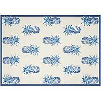Waverly Sun N' Shade Pineapple Grove Indoor Outdoor Rug - 10' x 13'