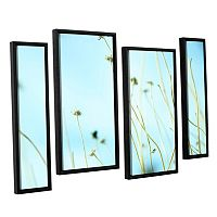 ArtWall 30 Second Daydream Framed Wall Art 4-piece Set