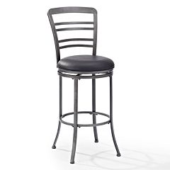 Crosley Furniture Shelburne Swivel Bar Stool