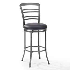 Crosley Furniture Shelburne Swivel Bar Stool