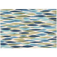 Waverly Sun N' Shade Abstract Geometric Indoor Outdoor Rug - 10' x 13'