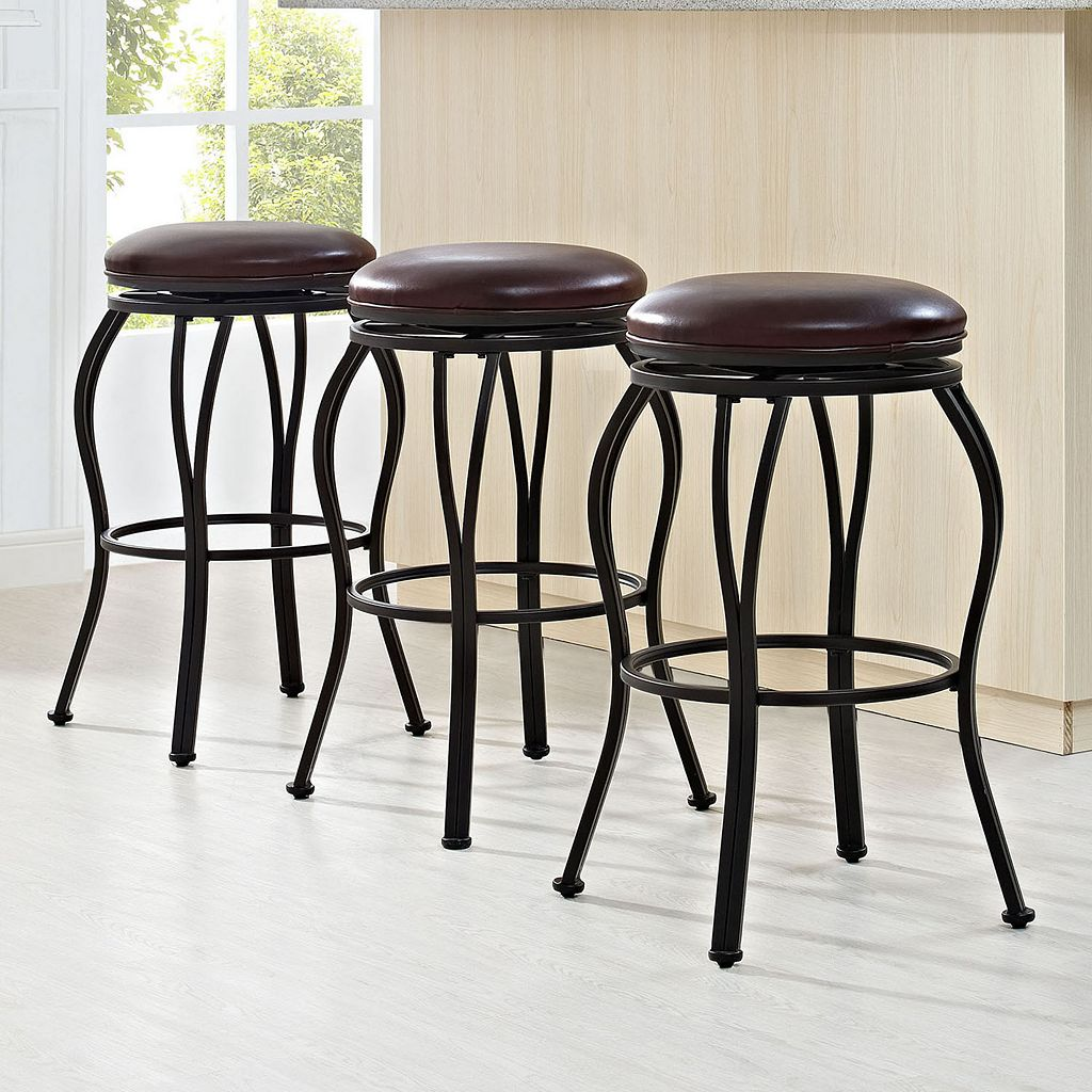 Crosley Furniture Kemper Swivel Bar Stool