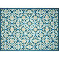 Waverly Sun N' Shade Starry Eyed Geometric Indoor Outdoor Rug - 10' x 13'