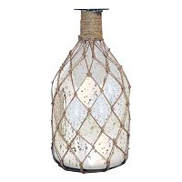 Pomeroy Coastal Speckled Glass Bottle Vase