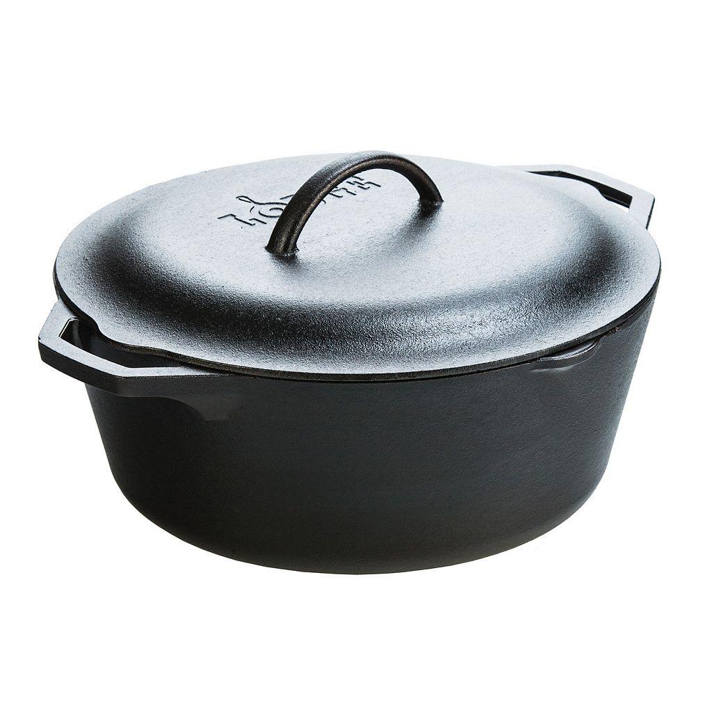 Lodge Logic 7-qt. Cast-Iron Dutch Oven with Lid