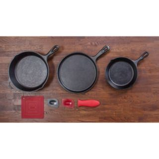 Lodge Logic 7-pc. Cast-Iron Essential Skillet Set