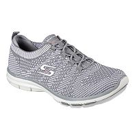 Skechers Galaxies Flat Knit Gore Bungee Women's Slip On Shoes