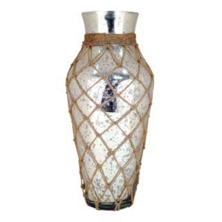 Pomeroy Coastal Speckled Glass Vase