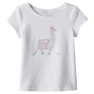 Toddler Girl Jumping Beans® Llama Foil Graphic Tee