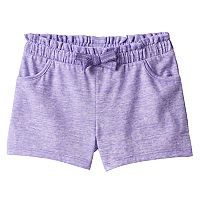 Toddler Girl Jumping Beans® Space-Dyed Paper Bag Waist Shorts