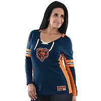 Women's Majestic Chicago Bears Winning Style Tee
