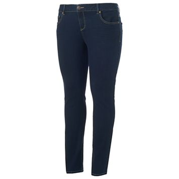 Juniors' Plus Size SO® Low Rise Skinny Jeans