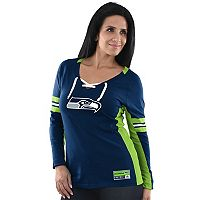 Women's Majestic Seattle Seahawks Winning Style Tee