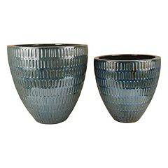 Pomeroy Malaya Decorative Ceramic Bowl 2-piece Set