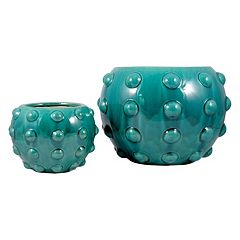 Pomeroy Aquatica Decorative Planter 2-piece Set