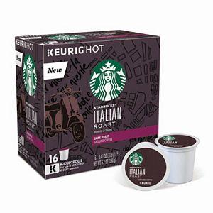 Keurig® K-Cup® Pod Starbucks Italian Roast Coffee – 16-pk.