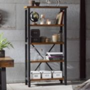 INK+IVY Lancaster Industrial Bookshelf