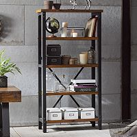 INK+IVY Lancaster Industrial Bookshelf