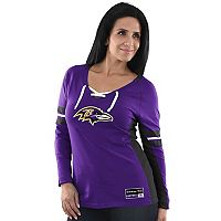 Women's Majestic Baltimore Ravens Winning Style Tee
