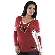 Women's Majestic Arizona Cardinals Winning Style Tee