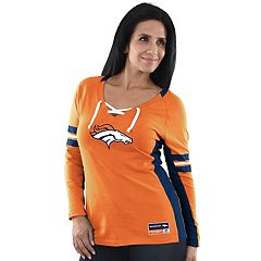 Women's Majestic Denver Broncos Winning Style Tee