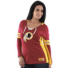 Women's Majestic Washington Redskins Winning Style Tee