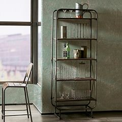 INK+IVY Renu Industrial Bookshelf