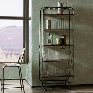 INK+IVY Renu Industrial Bookshelf