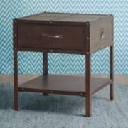 INK+IVY Benicia Industrial End Table