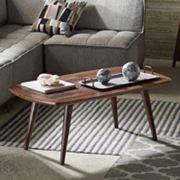 INK+IVY Renu Wood Coffee Table