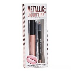 Academy of Colour 2 pc Metallic Liquid Lips