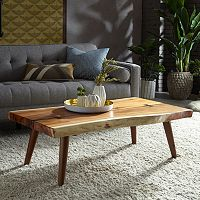 INK+IVY Wood Coffee Table
