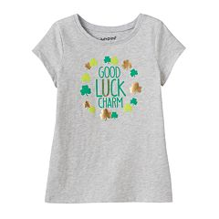 Toddler Girl Jumping Beans® Short Sleeve St. Patrick's Day Graphic Tee