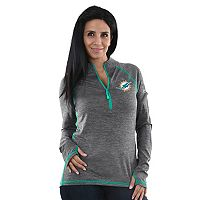 Women's Majestic Miami Dolphins Play Action Pullover