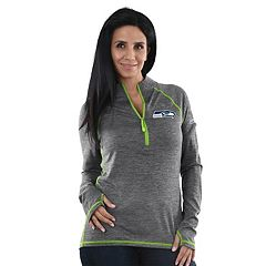 Women's Majestic Seattle Seahawks Play Action Pullover