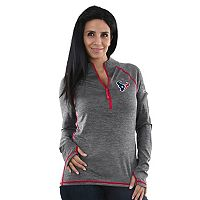 Women's Majestic Houston Texans Play Action Pullover