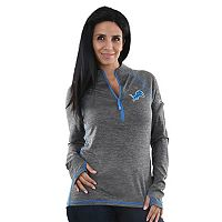 Women's Majestic Detroit Lions Play Action Pullover