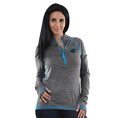 Women's Majestic Carolina Panthers Play Action Pullover