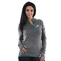 Women's Majestic Philadelphia Eagles Play Action Pullover