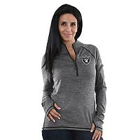 Women's Majestic Oakland Raiders Play Action Pullover