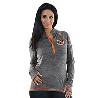 Women's Majestic Cincinnati Bengals Play Action Pullover