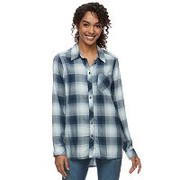 Women's SONOMA Goods for Life™ Essential Plaid Shirt