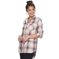 Women's SONOMA Goods for Life™ Essential Plaid Flannel Shirt